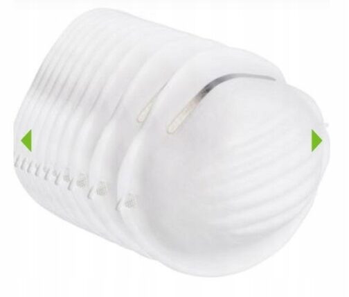 jednroazowa maseczka przeciwpyłowa ochrona przed zanieczyszczeniami